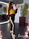 Спортивный женский костюм с худи и зауженными штанами 66spt681E, фото 2