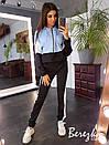 Спортивный женский костюм с худи и зауженными штанами 66spt681E, фото 5
