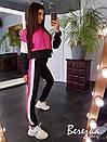 Спортивный женский костюм с худи и зауженными штанами 66spt681E, фото 6