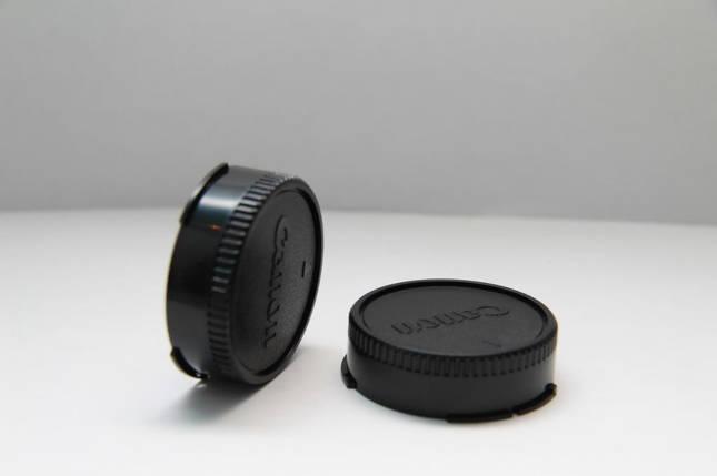 Крышка задняя для объективов CANON - байонет FD, фото 2