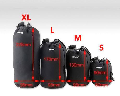 Неопреновый защитный чехол для объективов, размер - 95 х 225 - новый!, фото 2