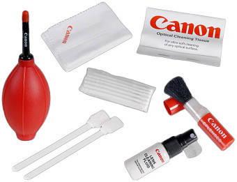 Универсальный чистящий набор 7 в 1 для видео и фототехники Cleaning KIT (CANON), фото 2