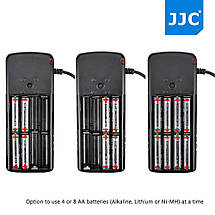 Батарейный блок BP-CA1 (аналог CP-E4) от JJC для вспышек Canon и Yongnuo, фото 2