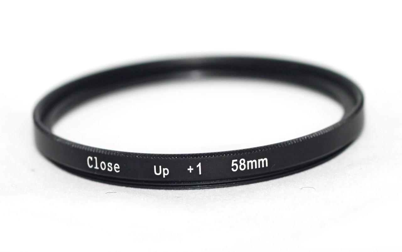"""Светофильтр - макролинза CLOSE UP +1 58mm """"CITIWIDE"""""""