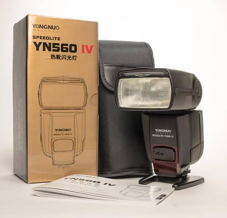 Вспышка для фотоаппаратов NIKON - YongNuo Speedlite YN-560 IV (YN560 IV), фото 2