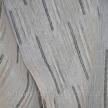 Тюль сырец св.серый