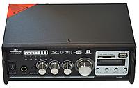 Усилитель звука AV-306B USB + SD + AUX + Bluetooth + Караоке, фото 1