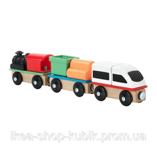 ИКЕА ЛИЛЛАБУ Поезд, 3 вагона