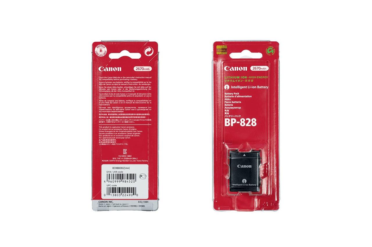 Аккумулятор для камер CANON - BP-828 (BP-820)