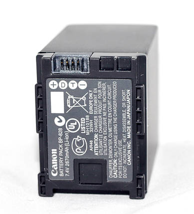 Аккумулятор для камер CANON - BP-828 (BP-820), фото 2