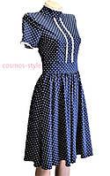 Котоновое платье в горох(36 размер) осталось одно!!!Цена супер!!! Турция!
