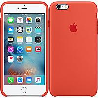 Оригинальный силиконовый чехол для iPhone 6/6s Оранжевый