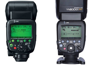 Вспышка для фотоаппаратов CANON - YongNuo Speedlite YN600EX-RT (YN-600EX-RT) с E-TTL