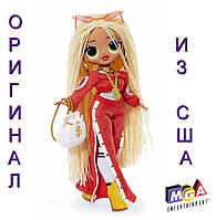 Большая кукла ЛОЛ Леди-DJ L.O.L. Surprise! O.M.G. Swag Fashion Doll 560548