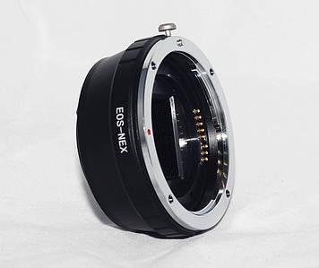 Переходник EF-S - NEX (автофокусный) (байонет E-mount) для камер SONY NEX-3, 5, 6, 7, A5000, A6000, A7, A7 II