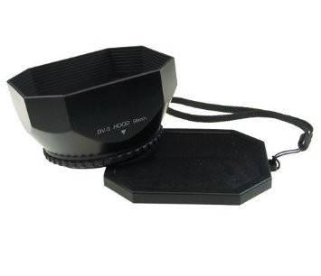 Бленда для видеокамер 37 мм - прямоугольная в комплекте с крышкой, фото 2