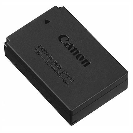 Акумулятор для фотоапаратів CANON EOS M, M2, M3, M10, M50, M100, 100D - LP-E12, фото 2
