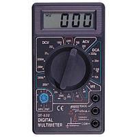 Мультиметр тестер вольтметр амперметр DT-832 мультиметры купить