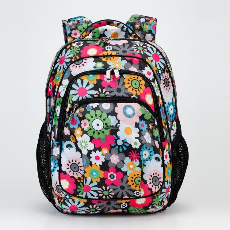 Ортопедический школьный ранец с цветочным принтом Dolly 531 для девочки