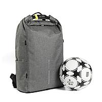 "Водонепроницаемый рюкзак антивор для ноутбука XD Design Bobby Urban Lite 15.6"" Серый"