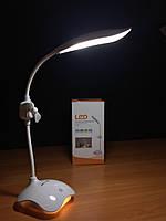 Настільна лампа світлодіодна з нічником і встроєним аккамулятором, фото 1