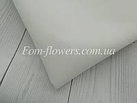 Зефирно-шелковый фоамиран, белый, 50х50 см.