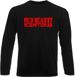 Футболка с длинным рукавом Red Dead Redemption 2 (чёрная)