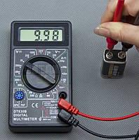 Мультиметр тестер вольтметр амперметр DT-830B мультиметры купить