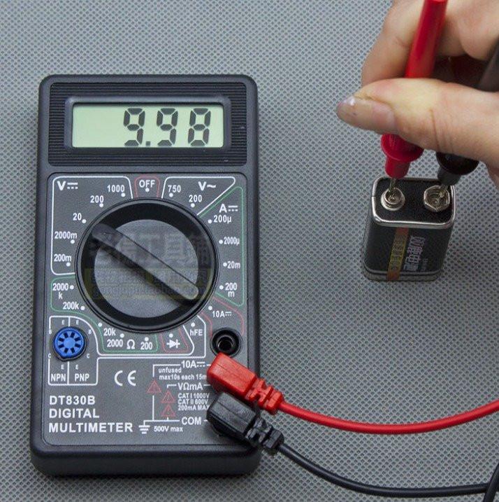 Инструкция по эксплуатации мультиметра dt 830b