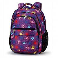 Школьный портфель фиолетовый Dolly 532 для девочки, фото 1