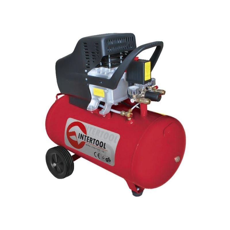 Компрессор 50 л, 1.5 кВт, 220 В, 8 атм, 206 л/мин.