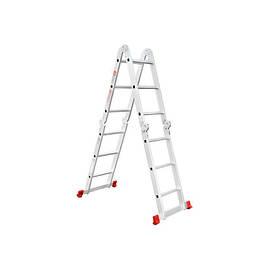 Лестница алюминиевая мультифункциональная трансформер 4*3ступ., 3.50м