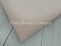 Зефирно-шелковый фоамиран, жемчужный, 50х50 см.
