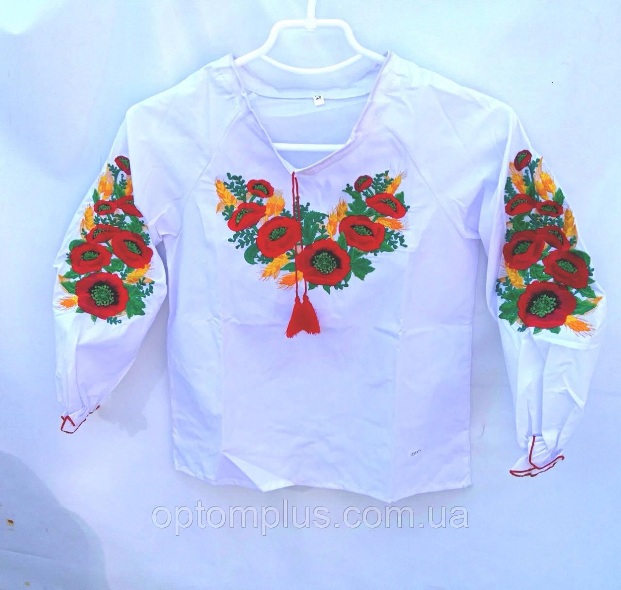 Вышиванки для девочек (122-146 см) оптом купить от склада 7 км