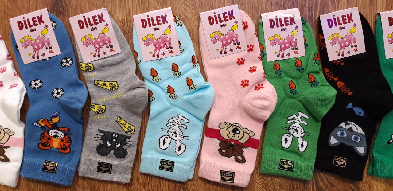 """Дитячі стрейчеві шкарпетки""""DILEK"""" Туреччина 5-7 років"""