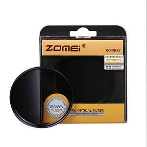 Градиентный светофильтр ZOMEI 62 мм - серый (grey)