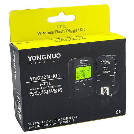Радиосинхронизатор YONGNUO YN622N-KIT для NIKON - комплект из 2 шт, фото 2