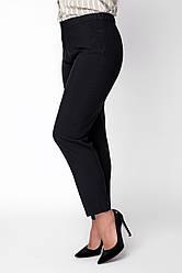 Женские брюки Симма черные рр 50-60