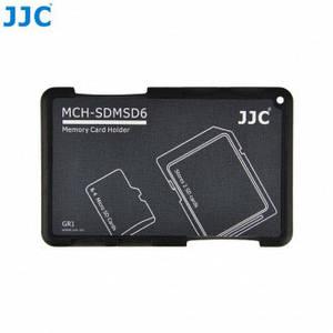 Защитный футляр - кейс для карт памяти JJC MCH-SDMSD6