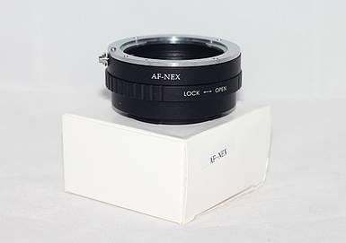 Адаптер (переходник)  SONY AF - NEX (E-mount) для камер SONY NEX-3, 5, A5000, A5100, A6000, A6300, A7, A7 II