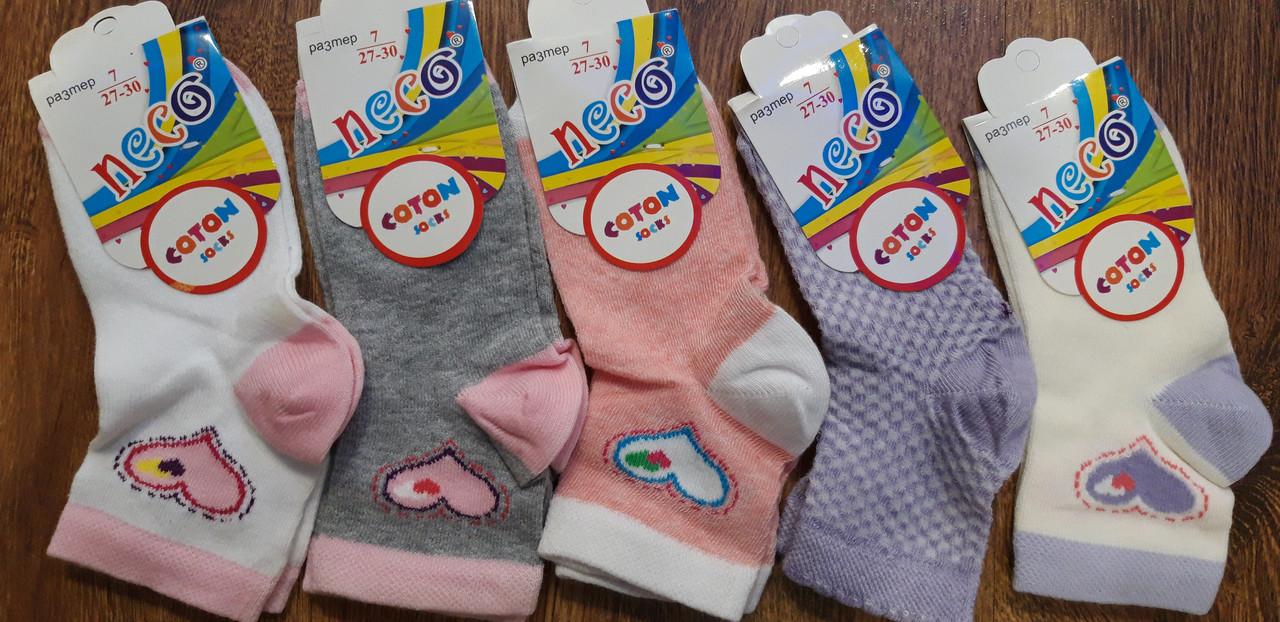 """Дитячі стрейчеві шкарпетки""""NECO"""" Туреччина 7-8 років"""