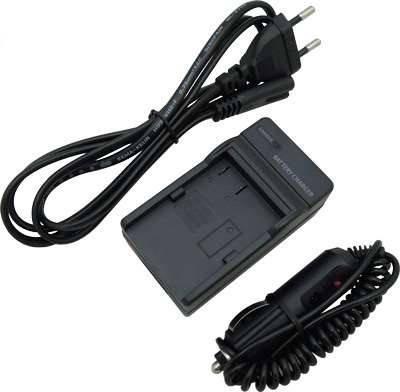 Зарядное устройство + автомобильный адаптер DE-A79 (аналог) для Panasonic (аккумулятор DMW-BLC12, DMW-BLC12E), фото 2