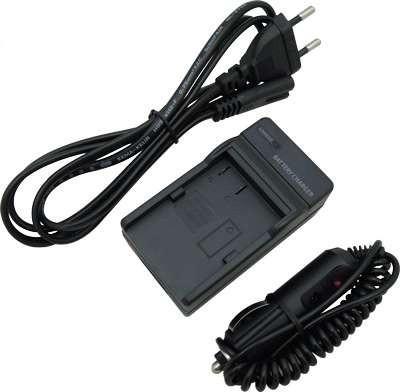 Зарядное устройство + автомобильный адаптер DE-A79 (аналог) для Panasonic (аккумулятор DMW-BLC12, DMW-BLC12E)