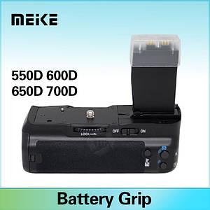 Бустер Meike MK-550D (BG-E8 - аналог) батарейный блок для Canon 550D 600D 650D 700D