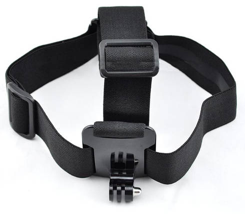 Крепление на голову (Head Strap mount) для экшн камер Xiaomi YI, SJCam, GoPRO (код № XTGP23B), фото 2