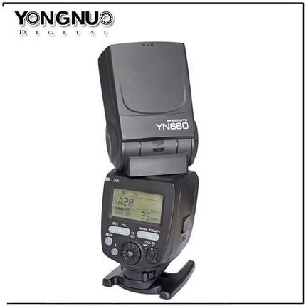 Вспышка для фотоаппаратов CANON - YongNuo Speedlite YN-660 (YN660), фото 2