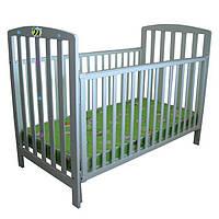 Кровать деревянная для новорожденных BC-08-001 PANDA DELUXE