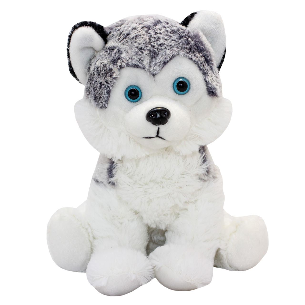 Мягкая игрушка ХАСКИ, 23 см, белая (164656/3)