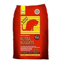 Nutra Nuggets CAT HAIRBALL (красная)  10 кг Корм для выведения шерсти у кошек