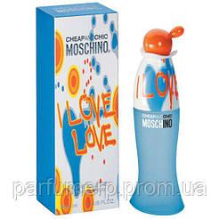 Moschino I Love Love (100мл), Женская Туалетная вода  - Оригинал!